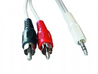CABLE AUDIO 3.5MM-2PHONO 1.5M/CCA-458 GEMBIRD